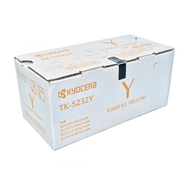CARTUCHO DE TONER KYOCERA COLOR AMARILLO 2200 PAGINAS (1T02R9AUS0)