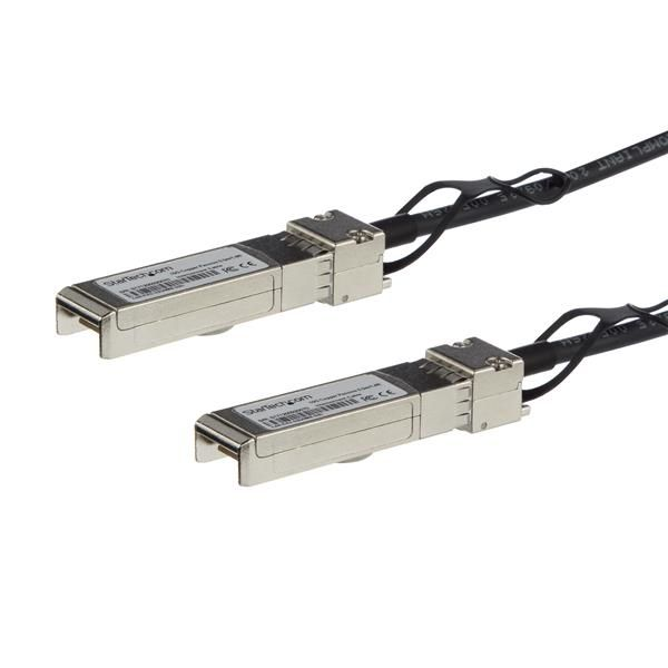 CABLE STARTECH SFP+ 1.5M DIRECT ATTACH TWINAX PASIVO SFP-H10GB-CU1-5M