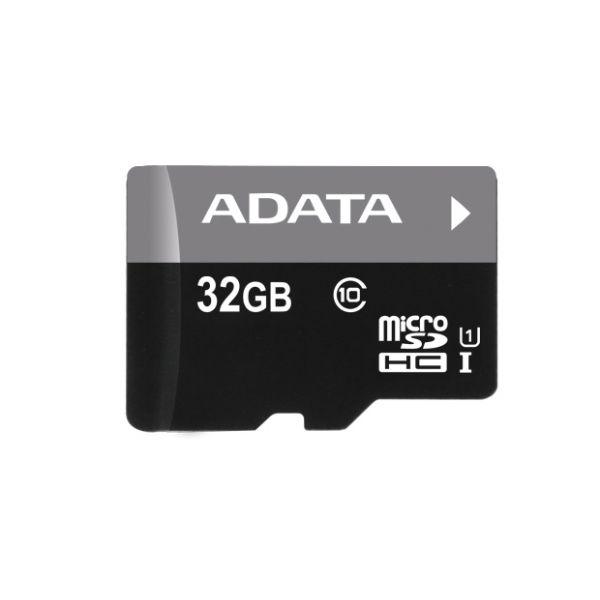 MEMORIA MICRO SDHC ADATA 32 GB C/ADAPTADOR CL10 (AUSDH32GUICL10-RA1)