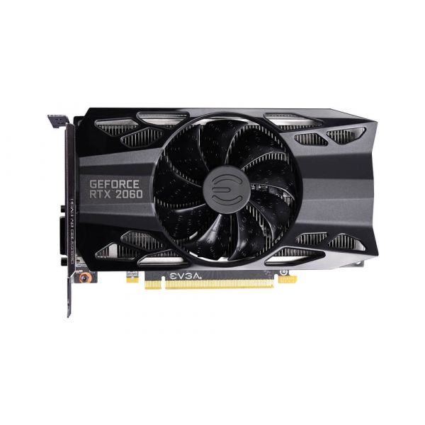 TARJETA DE VIDEO EVGA NVIDIA GEFORCE RTX 2060 6GB GDDR6 06G-P4-2060-KR