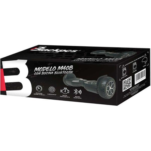 HOVERBOARD ELECTRICO BLACKPCS 8