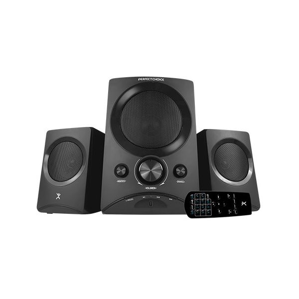 SISTEMA DE AUDIO PERFECT CHOICE PC-112761 50 W COLOR NEGRO BLUETOOTH
