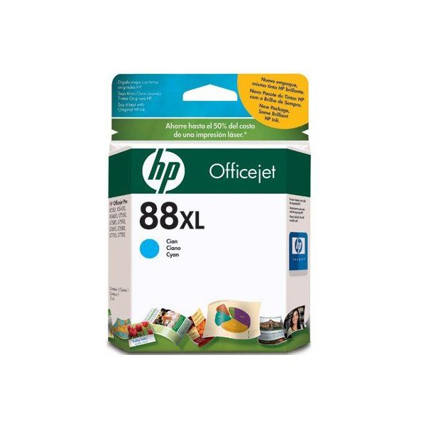 CARTUCHO HP 88XL CIAN OFFICEJET K660 K550DTN K550D (C9391AL)