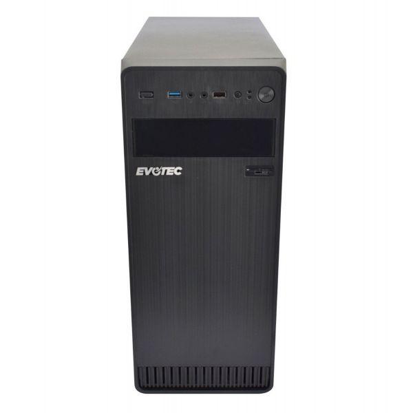 GABINETE EVOTEC EV-1004 TORRE ATX MICRO-ATX MINI-ITX NEGRO 600 W
