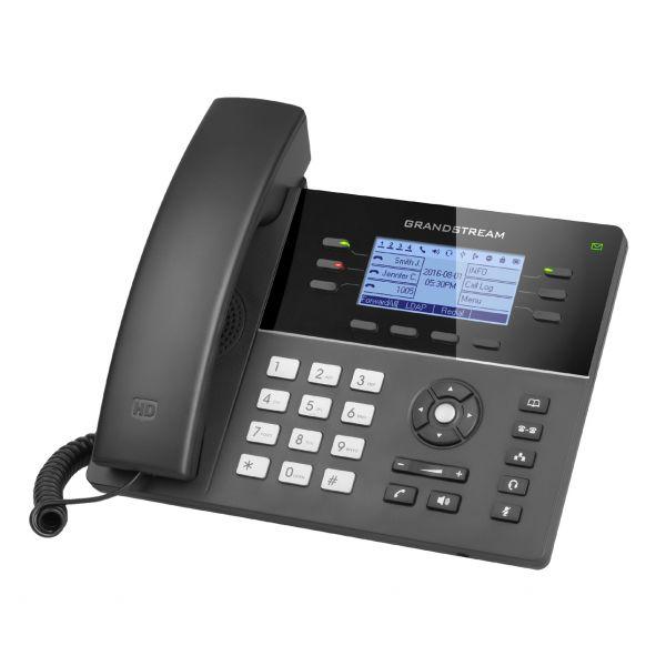 TELEFONO IP GRANDSTREAM GXP1760 6 LINEAS ALTAVOZ NEGRO