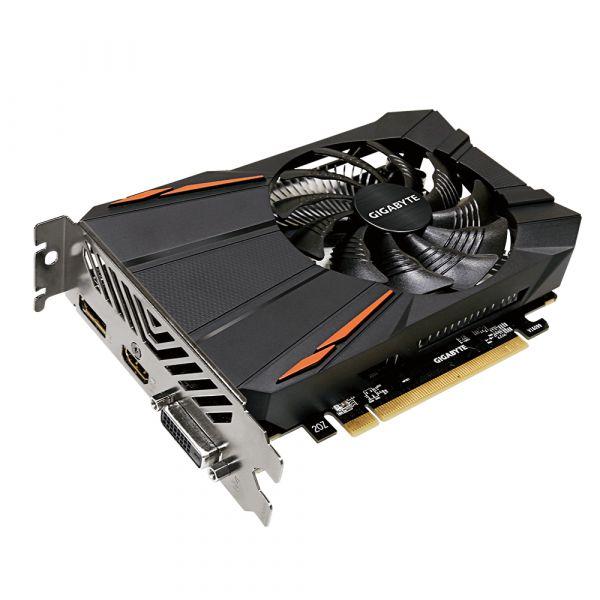 TARJETA DE VIDEO GIGABYTE AMD RADEON RXGV-RX550D5-2GD GDDR5 128 BIT