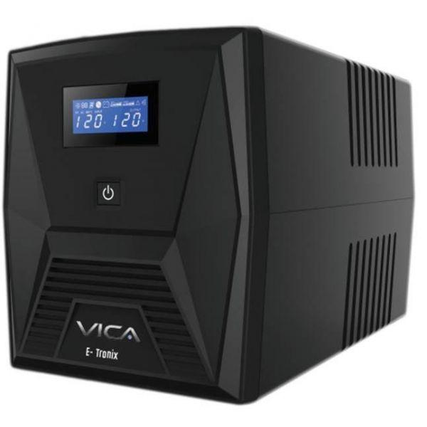 NOBREAK VICA E-TRONIX 2000 2000VA/1200W LCD 8 CONTACTOS