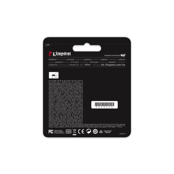 MEMORIA SD KINGSTON CANVAS GO! 32GB SDXC UHS-I CLASE10 SDG/32GB