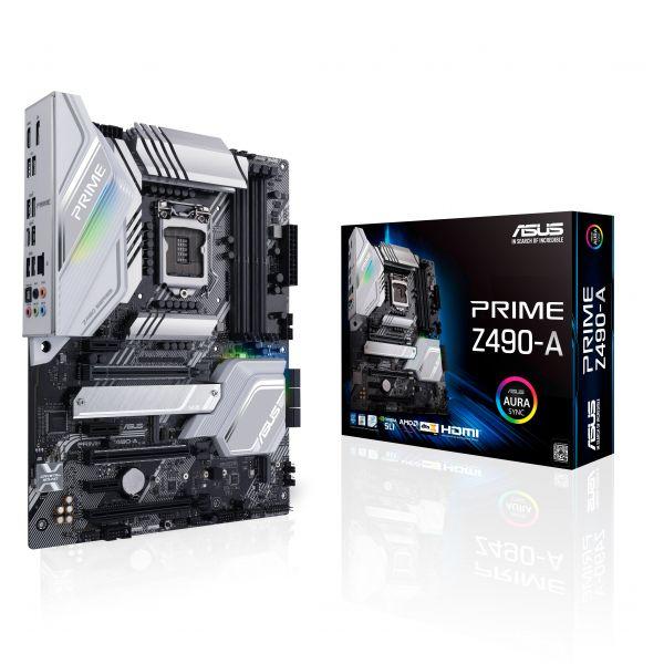 TARJETA MADRE ASUS PRIME Z490-A 10th GEN DDR4 LGA1200