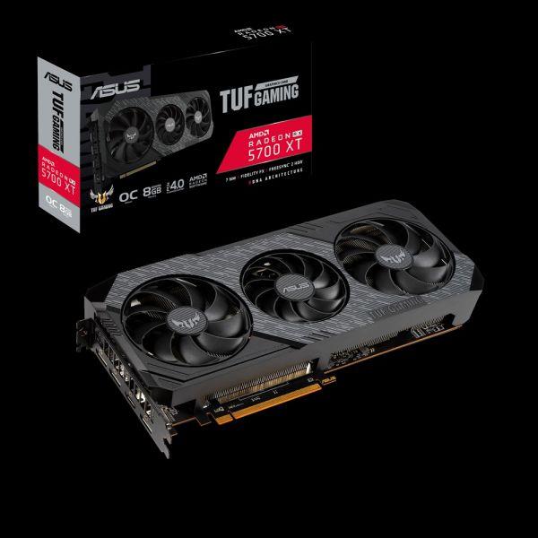 TARJETA DE VIDEO ASUS TUF RADEON RX 5700XT EVO GAMING 8GB GDDR6