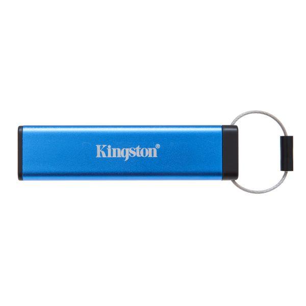 MEMORIA FLASH KINGSTON 64GB USB 3.1 CON LOCK TIPOA AZUL (DT2000/64GB)