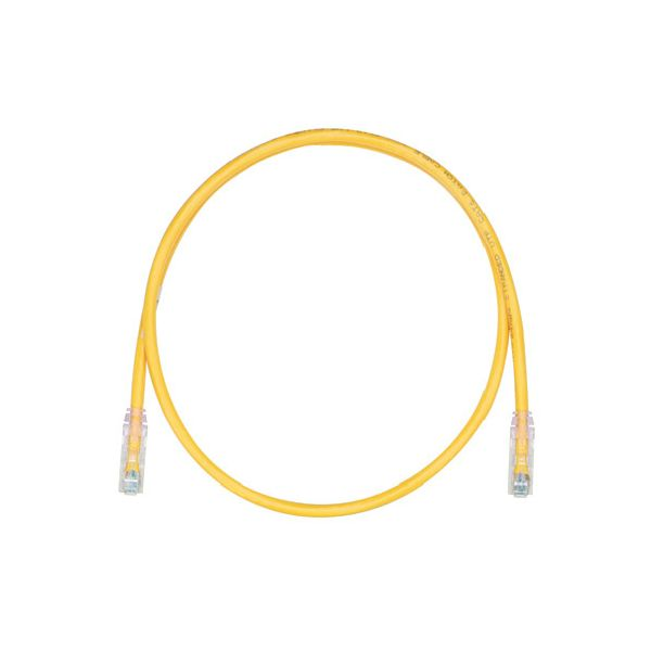 CABLE DE PARCHEO PANDUIT UTPSP7YLY 2 1 M AMARILLO