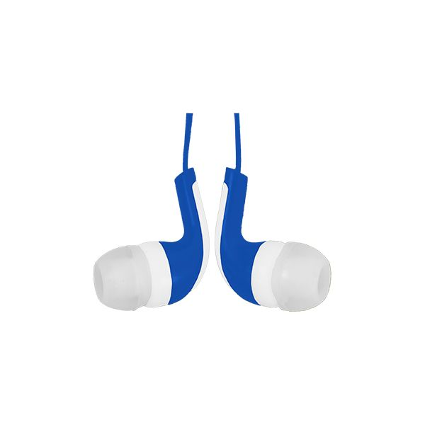 AUDIFONOS IN-EAR EASY LINE EL-995258 AZUL/BCO ALAM 3.5 MM 1.2 M