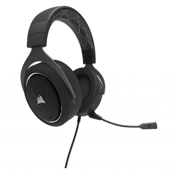 AURICULAR CORSAIR HS60 SURROUND NEGRO/BCO 3.5 MM DB CA-9011174-NA