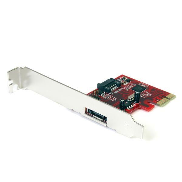 TARJETA ADAPTADORA PCI-E STARTECH PEXSAT31E1 1 PUERTO SATA-SATAIII