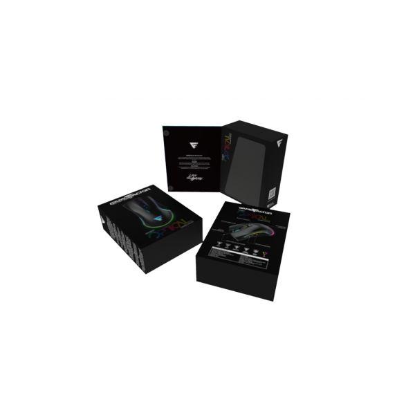 MOUSE GAMER GAME FACTOR OPTICAL MOG500 4000DPI RGB MACROS USB