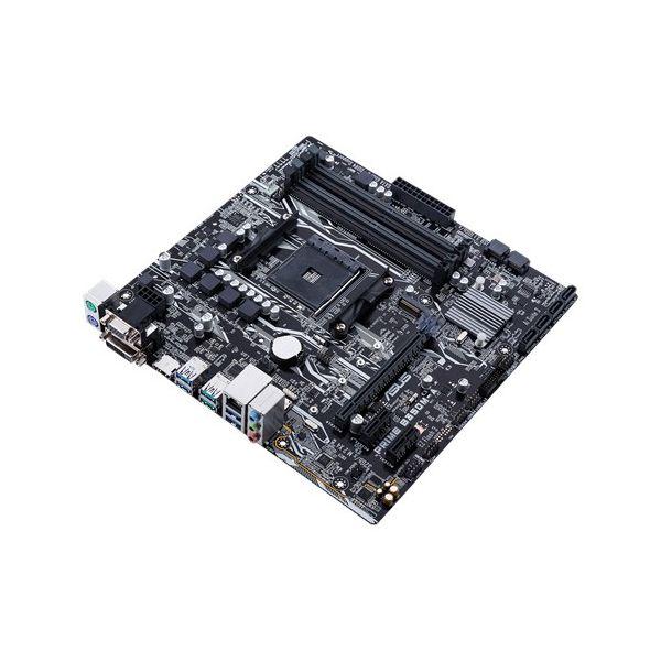 TARJETA MADRE ASUS PRIME B350M-A/CSM 4DDR4 3200 HDMI/DVI/VGA AM4 CAJA