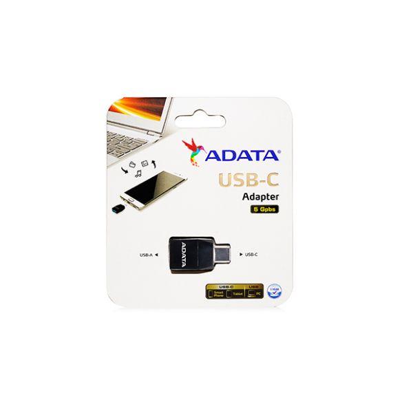 ADAPTADOR USB-C A USB-A 3.1 ADATA ACAF3PL-ADP-RBK
