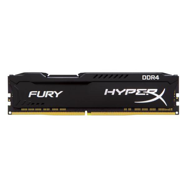 MEMORIA DDR4 KINGSTON HYPERX FURY BLACK 4GB 2400 MHZ CL15