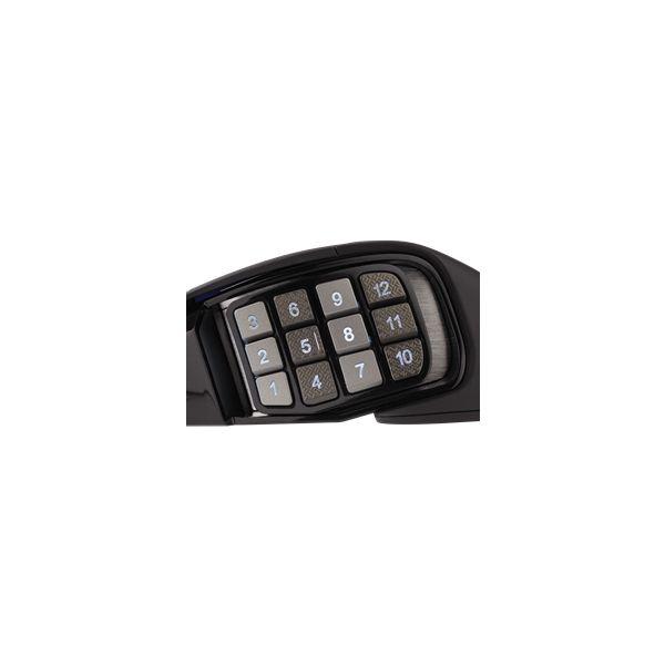 MOUSE CORSAIR SCIMITAR PRO RGB BLACK 16000 DPI MOBA/MMO CH-9304111-NA