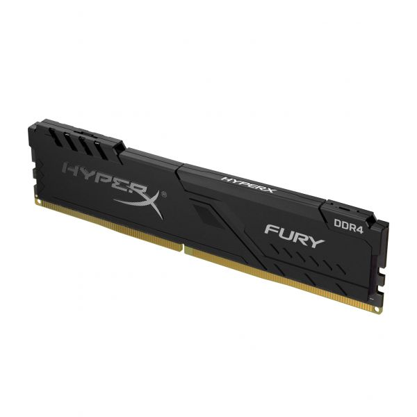 MEMORIA RAM KINGSTON HYPERX FURY BLACK 8GB DDR4 2666MHZ HX426C16FB3/8