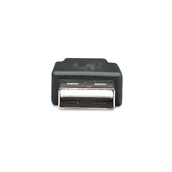 CABLE MANHATTAN USB 2.0 A MACHO A MICRO USB 2.0 B MACHO 1M 307161