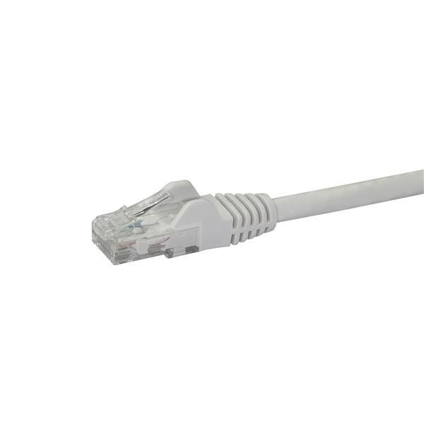 CABLE PATCH STARTECH 0.5M BLANCO CAT6 RJ-45 MACHO N6PATC50CMWH