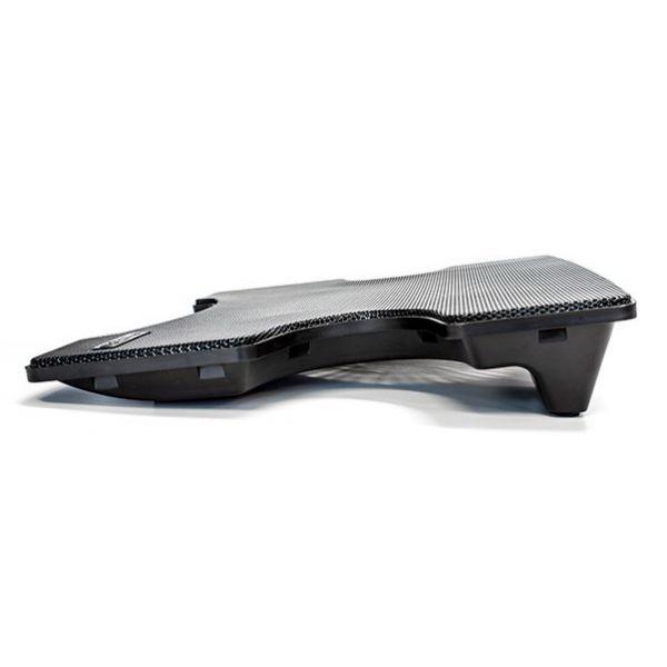BASE ENFRIADORA VORAGO LAPTOP CP-102 HUB 2 USB NEGRO