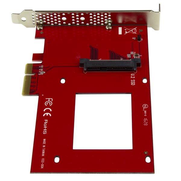 TARJETA PCI STARTECH EXPRESS U.2 NVME SFF8639 DE 2.5