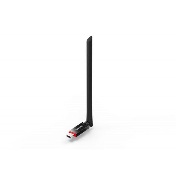 ADAPTADOR DE RED TENDA USB U6 INALAMBRICO 300 MBIT/S ANTENA DE 6DBI