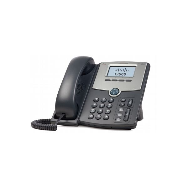 TELEFONO CISCO IP DE 1 LINEA PANTALLA SPA502G POE Y PC 2X RJ-45 NEGRO