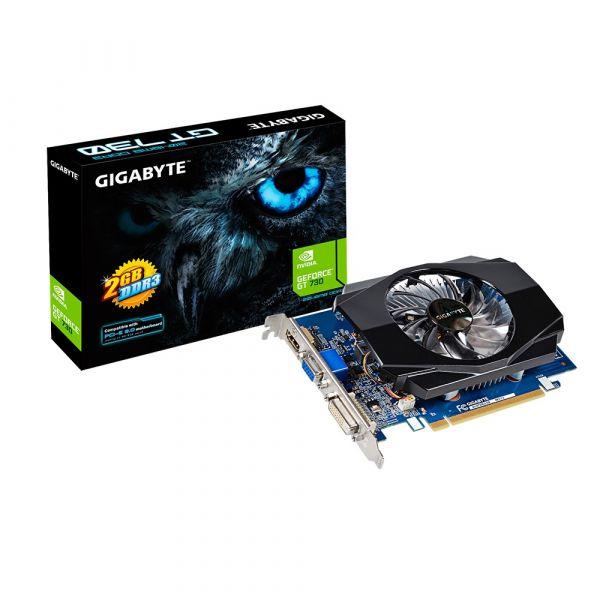 TARJETA DE VIDEO GIGABYTE GEFORCE GT 730 2GB DDR3 GV-N730D3-2GI