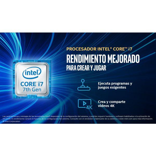 SLIM BAO Q7001 i7-7700 3.6(4.2)GHZ 8GB 1TB DVD WIN10PRO (QCS1714)