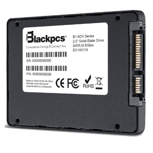 UNIDAD DE ESTADO SOLIDO SSD BLACK PCS 480GB (AS2O1-480)
