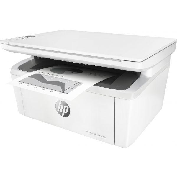 IMPRESORA MULTIFUNCIONAL HP LASERJET PRO M28W WIFI 19PPM 600DPI