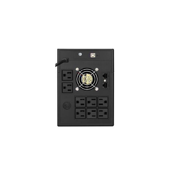 NOBREAK KOBLENZ 15012 USB/RN 1500VA/900W 120V 8 CONTACTOS