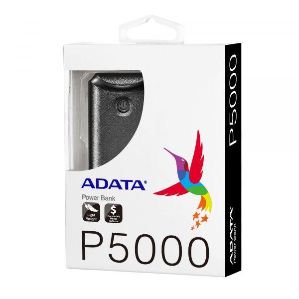 POWER BANK ADATA P5000 ROSA 5000MAH (AP5000-USBA-CPK)