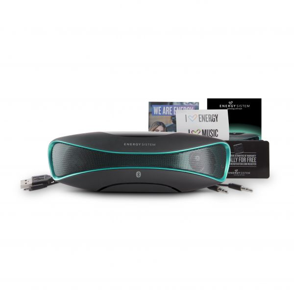 BOCINA ACTECK ENERGY BLUETOOTH MUSIC BOX B3 CABLE DE AUDIO 3,5 MM