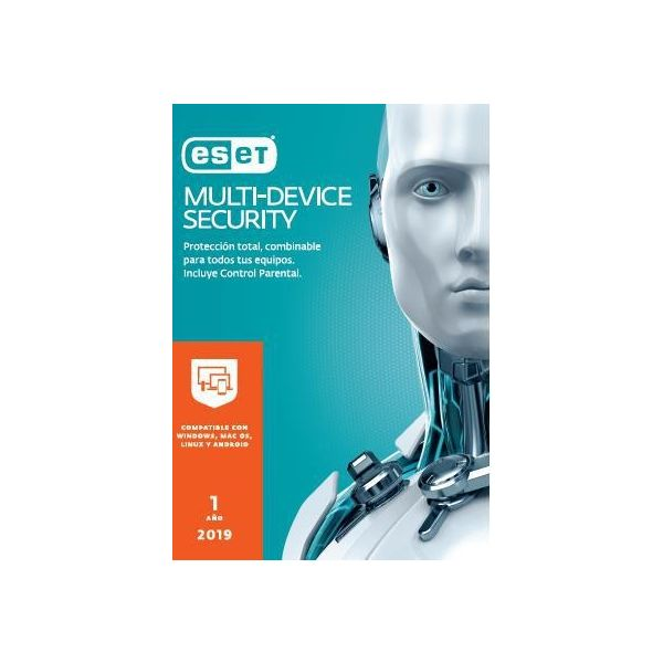 ANTIVIRUS ESET MULTIDEVICE SECURITY 5USR 1YR (TMANTIVIRUS ESET-306)