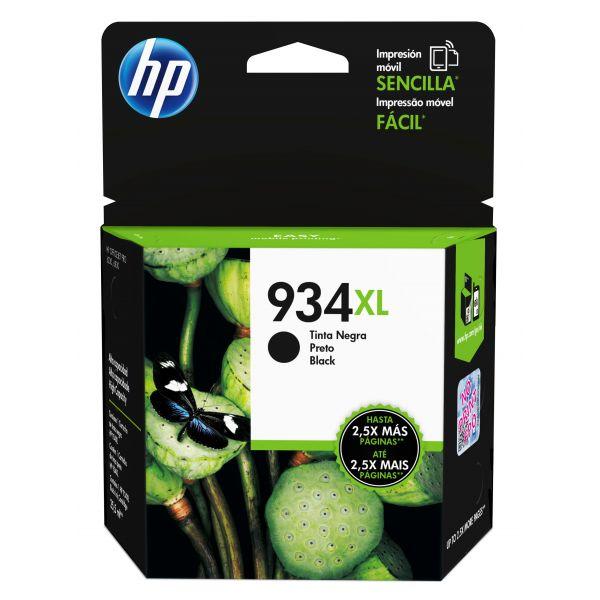 CARTUCHO HP 934XL NEGRO 1,000 PAGS P/OJ PRO 6830/6230 (C2P23AL)