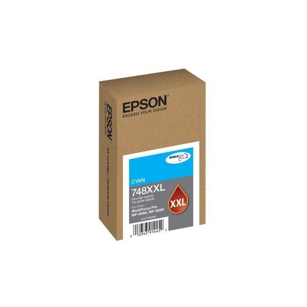 CARTUCHO EPSON 748 XXL CYAN T748XXL220