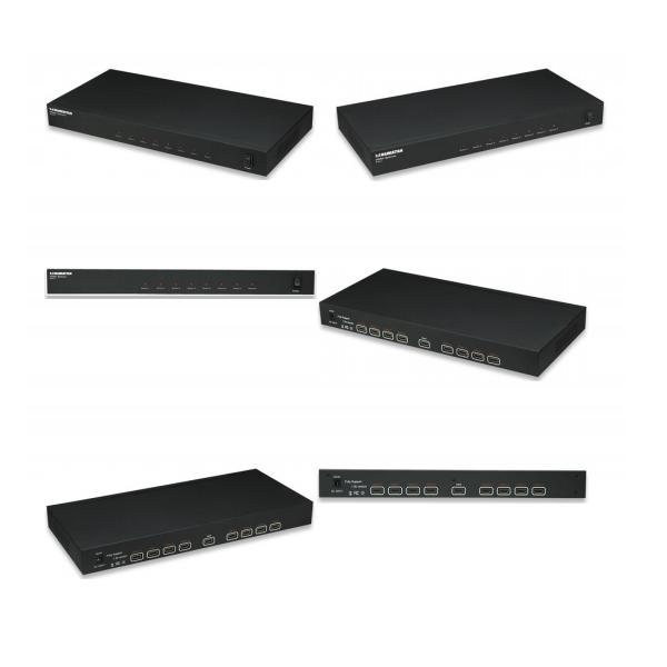 VIDEO SPLITTER MANHATTAN HDMI HDTV 1080P, 1 IN : 8 OUT 207492
