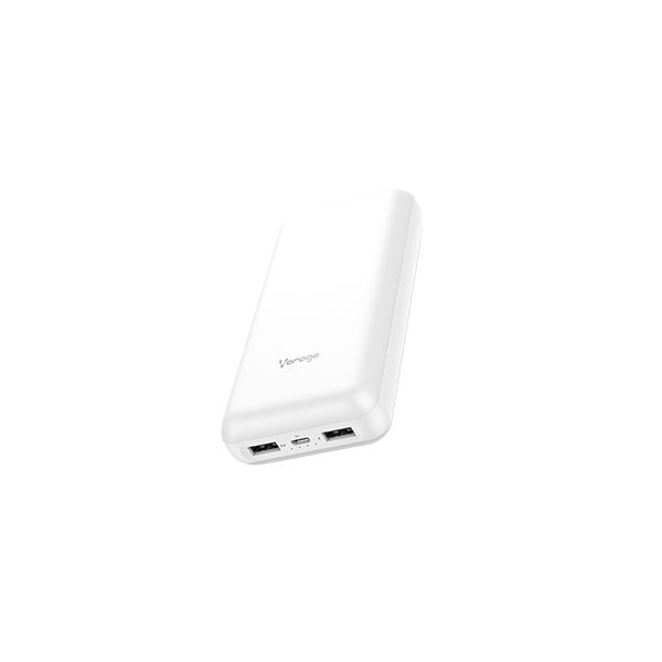 POWER BANK VORAGO PB-550 20,000 mAh 2x USB BLANCA