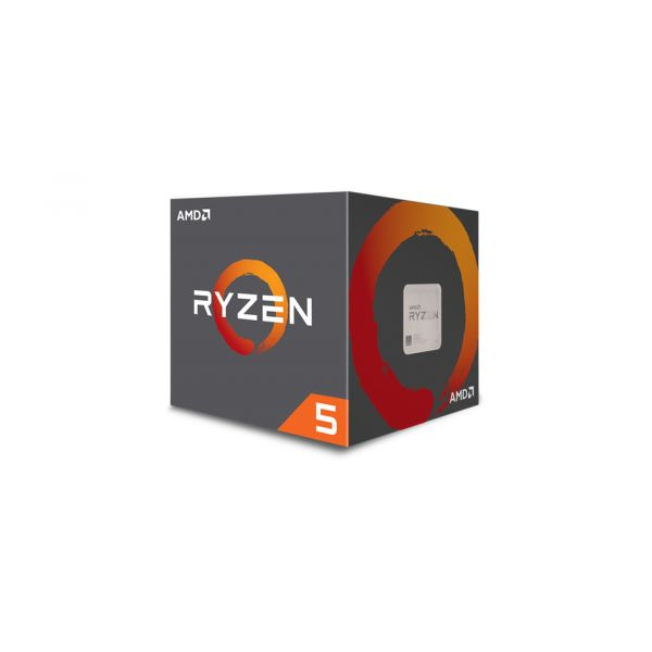 PROCESADOR AMD RYZEN 5 1600 6CORE 3.6GHz 65W COOLER AM4 YD1600BBAEBOX