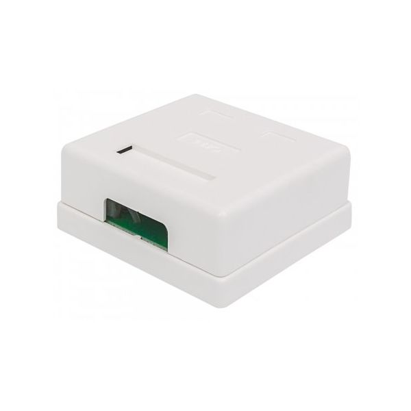 CAJA PARA PARED ROSETA INTELLINET RJ45 CAT6 UTP BLANCO 771467