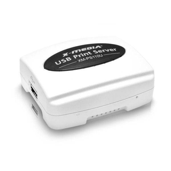 SERVIDOR DE IMPRESION X-MEDIA XM-PS110U USB 2.0 / FAST ETHERNET