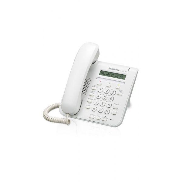 TELEFONO IP PANASONIC PROPIETARIO 1 LINEA 2 ETH POE KX-NT511PXW BLANCO