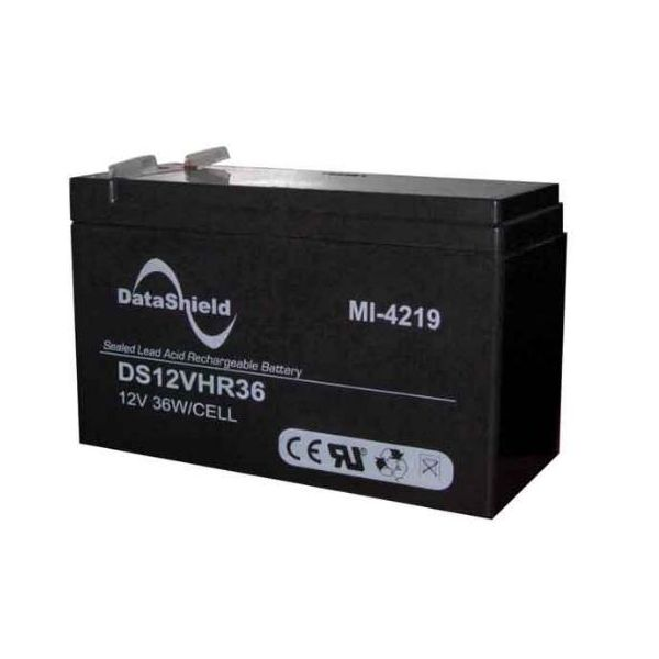 BATERIA PARA NO BREAK DATASHIELD MI-4219 COLOR NEGRO 12 V 9 AH