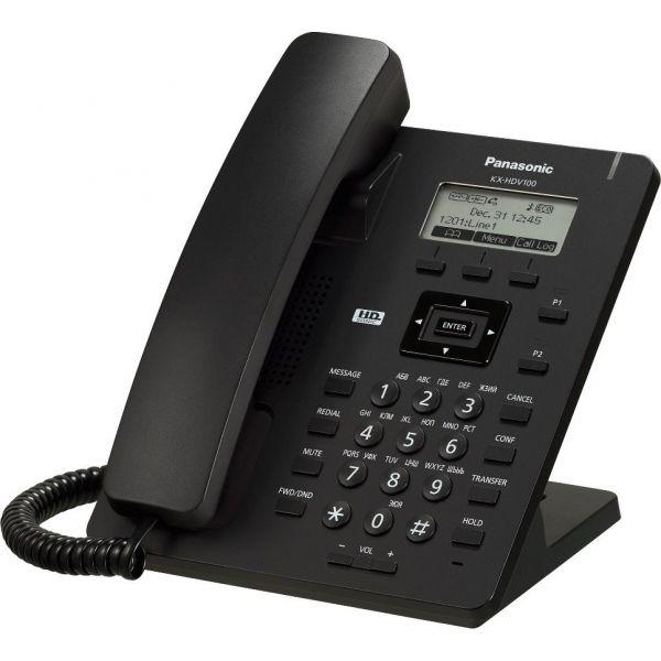 TELEFONO IP PANASONIC KX-HDV100LAB LCD 2.3