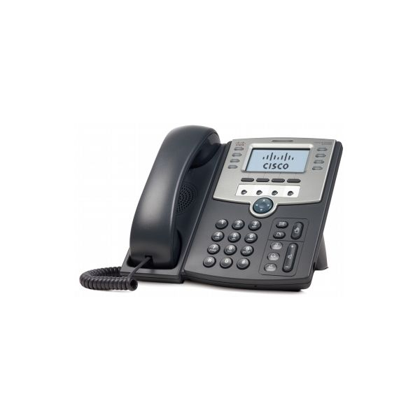 TELEFONO IP CISCO SPA509G 12 LINEAS CON PANTALLA POE PC 2X RE45 NEGRO